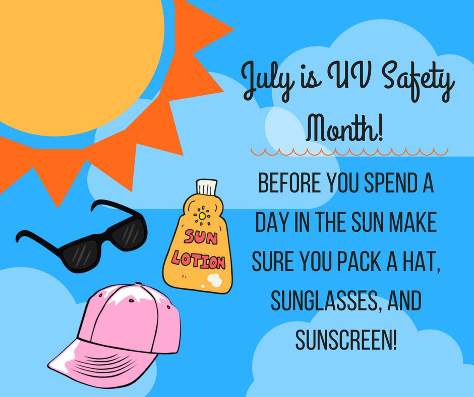 National UV Safety Month  7.2020