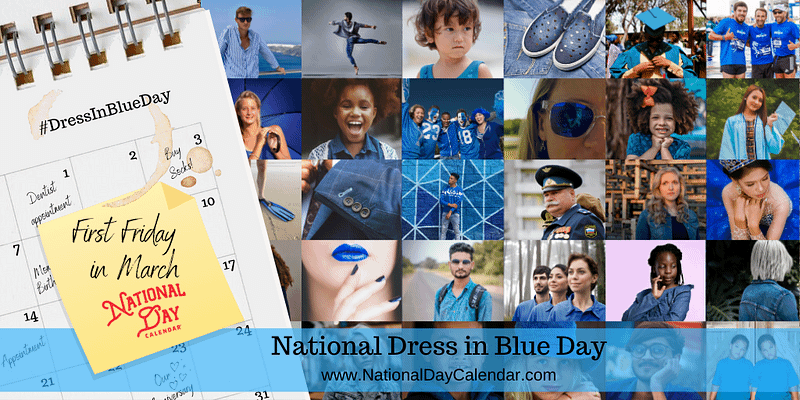National Dress In Blue Day  3.5.2021